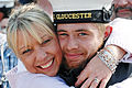 HMS Gloucester Sailor is Hugged by his Mum on Returning from a 7 Month Deployment MOD 45152536.jpg