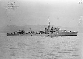 HMS <i>Partridge</i> (G30)
