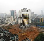 HNA Development Building (Haihang Development Building), shortly before demolition - 05.JPG