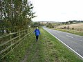 Hadrian's Wall National Trail approaching Heddon-on-the-Wall - geograph.org.uk - 1028061.jpg