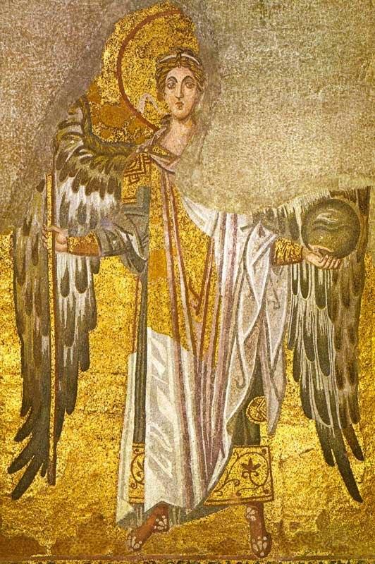 Hagia Sophia Constantinople Angel