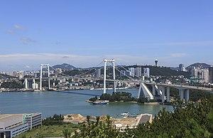 Haicang Bridge - Image: Haicang Bridge,Puente de Haicang (9172145021)