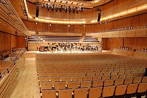 Royal Northern Sinfonia - Hall 1 at Sage Gateshead, the orchestra's current home