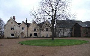 Grade II* listed buildings in East Hampshire - Image: Hall Place & Chapel
