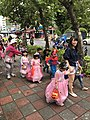 Halloween Parading of Kindergarten's Children at Xindong Street, Songshan District, Taipei 20171024b.jpg