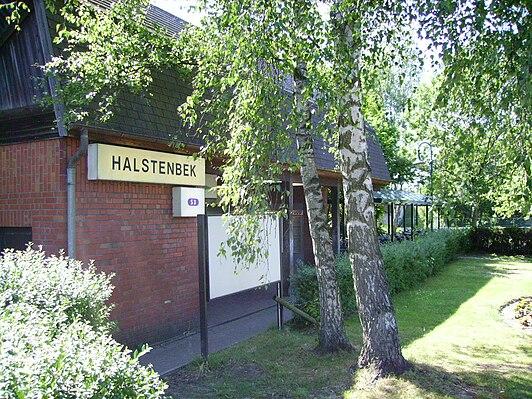 Halstenbek station
