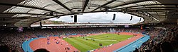 Hampden Park (panorama), Commonwealth Games, Glasgow 2014.jpg