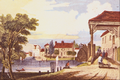 Hampton Court Bridge - William Tombleson.png