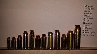 List of handgun cartridges - Wikipedia
