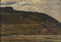 Harald Giersing - Skyer over fjeldet, Valle, Norge - 1904.png