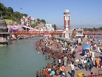 Haridwar district - Har ki Pauri ghat in Haridwar