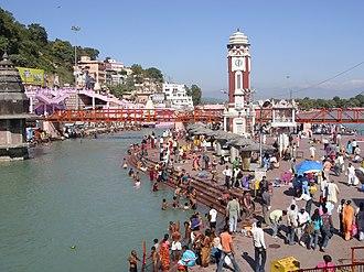 Haridwar district - Har ki Pauri ghat in Haridwar