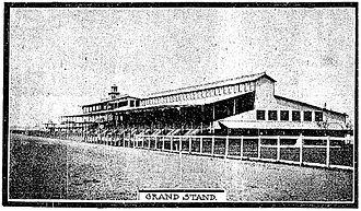 Harlem Race Track - Harlem Race Track Grandstand, 1901