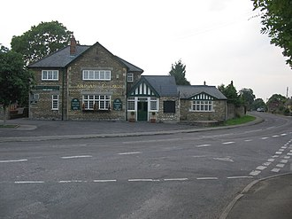 "Gastard - The ""Harp and Crown"" public house in June 2006"