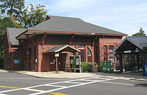 Harrison, New York - Harrison Metro-North Railroad station house