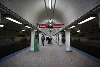 Harrison station (CTA) - Image: Harrison Station, CTA, Chicago