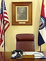 Harry S. Truman's Chair in Courthouse - Independence - Missouri - USA (26946139777).jpg