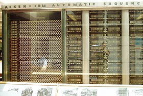 Portion of the Harvard-IBM Mark 1, left side.