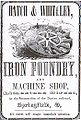 Hatch & Whiteley Iron Foundry, Advertisement, 1852.jpg
