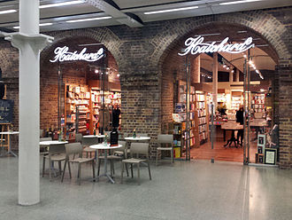 Hatchards - Hatchards at St Pancras railway station