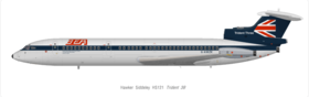 Image illustrative de l'article Hawker-Siddeley Trident