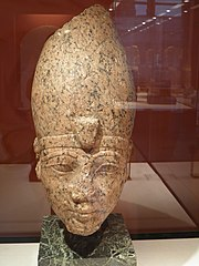 Head of Hatshepsut or of Thutmose III-E 10969