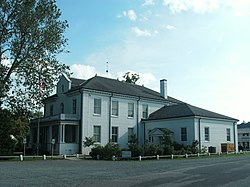 Heathsville Historic District - full view of courthouse.JPG