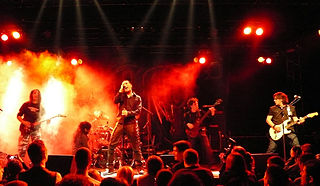 Heavenly (French band) French metal band