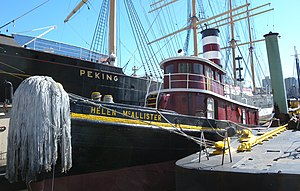 Admiral Dewey (tugboat) - Image: Helen Mc Allister jeh