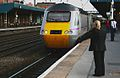 Hello wave at Doncaster for the 19.11 to Edinburgh. - panoramio.jpg