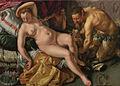 Hendrick Goltzius - Jupiter und Antiope - 1612.jpg