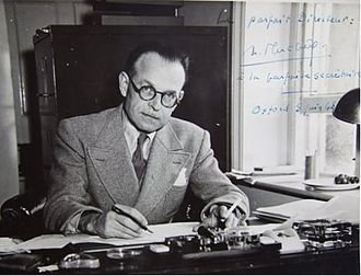 Maison française d'Oxford - Henri Fluchère, first director of the Maison Française.
