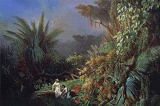 Paul et Virginie - Paul et Virginie, 1844 by Henri Pierre Léon Pharamond Blanchard