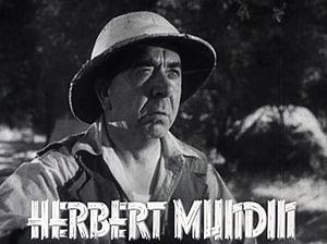 Herbert Mundin - in Tarzan Escapes