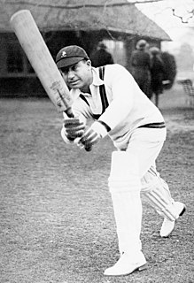 Herby Wade Cricket player of South Africa.