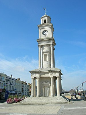 Grade II* listed buildings in City of Canterbury - Image: Herne Bay Clock Tower geograph.org.uk 1276184