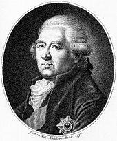 Der Kriegsminister: Ewald Friedrich Graf von Hertzberg (Quelle: Wikimedia)