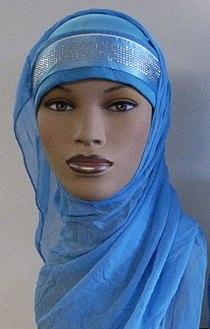 Hijab Niqab Veil (detail of hijab).jpg