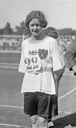 Hilda Hatt - Hatt at the 1922 Women's World Games