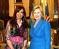 Hillary Clinton with Cristina Fernandez de Kirchner 2010.jpg