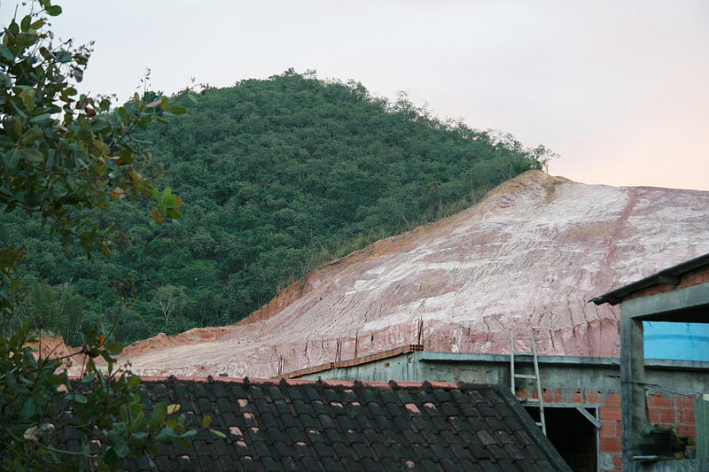 Hillside deforestation in Rio de Janeiro.jpg