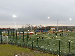 De Montfort Park - the All Weather Floodlit pitch