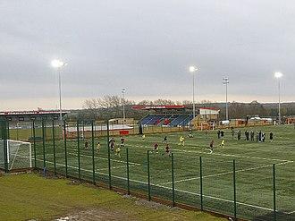 De Montfort Park - the All Weather Floodlit pitch
