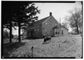 Historic American Buildings Survey, SOUTH ELEVATION. - Bradt House, New Scotland, Albany County, NY HABS NY,1-NESCO,2-1.tif
