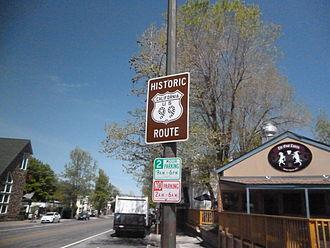 U.S. Route 99 in California - Historic US 99 Marker