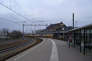 Hoek van Holland Haven metro station - Image: Hoek van Holland haven oostzijde
