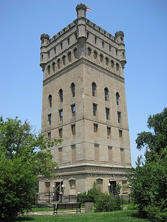 Hofmann Tower - Hofmann Tower in 2011