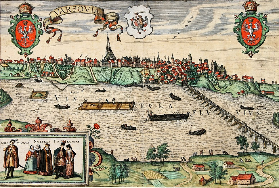 Hogenberg View of Warsaw
