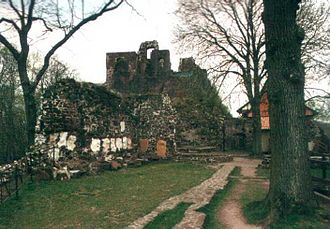 Hohnstein Castle - The ruins of Hohnstein Castle