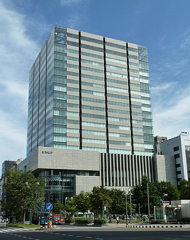 北洋銀行の本店(北洋大通センター)